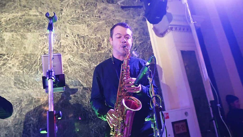 Саксофонист на мероприятие от