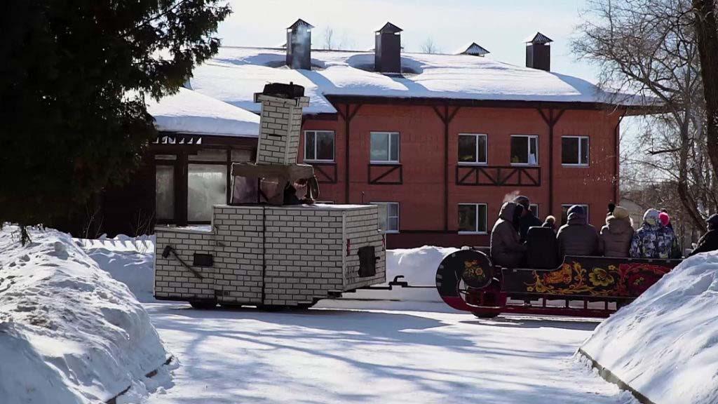 Аттракцион печка Емеля