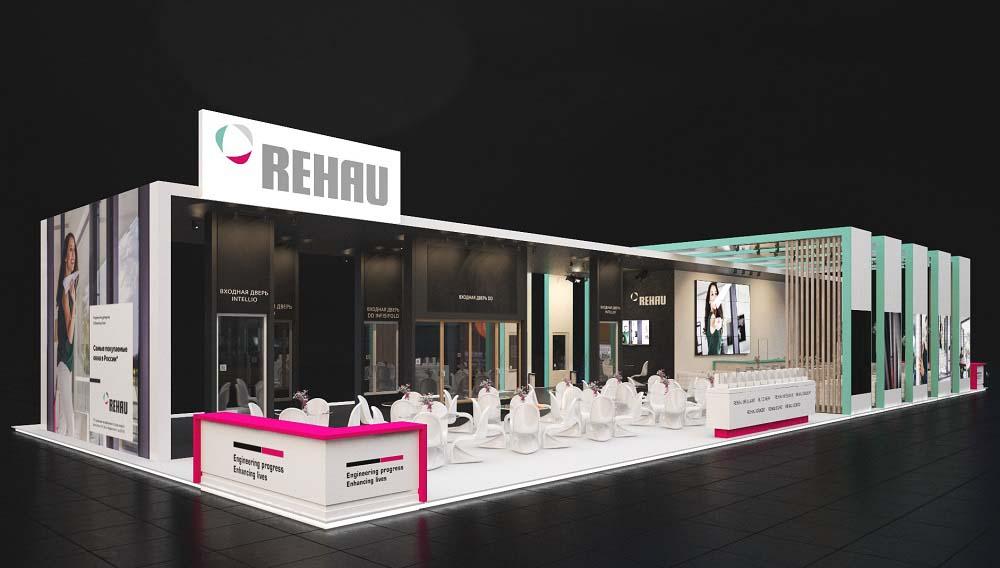 Кейтеринг на выставке Мосбилд 2019 для компании Rehau